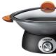 Wok lid with handle - en