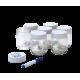 Set of 7 yoghurt jars - en