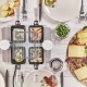 Raclette 4 Transparente 4 personnes - fr