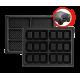 Jeu de plaques Mini gaufres « Tarti » - fr