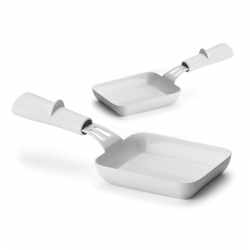 Set of 2 rectangular pans