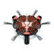 Raclette 6 Vitro Grill