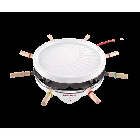 Raclette 8 Grill Crêpes