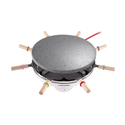 8-person Stone Raclette Maker
