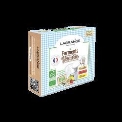 Ferments bio Vanille/Fraise/Citron - fr