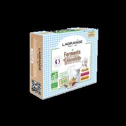 Ferments bio Vanille/Framboise/Abricot - fr