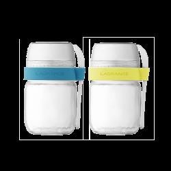 Pots de yaourts à emporter