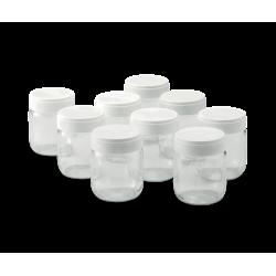 Jeu de 9 pots de yaourt - fr