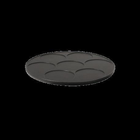 Plaque 7 mini-crêpes - en