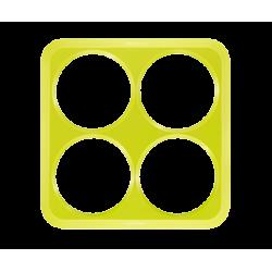 Pochoir silicone Mini Crêpes Crêpes Créativ' - fr