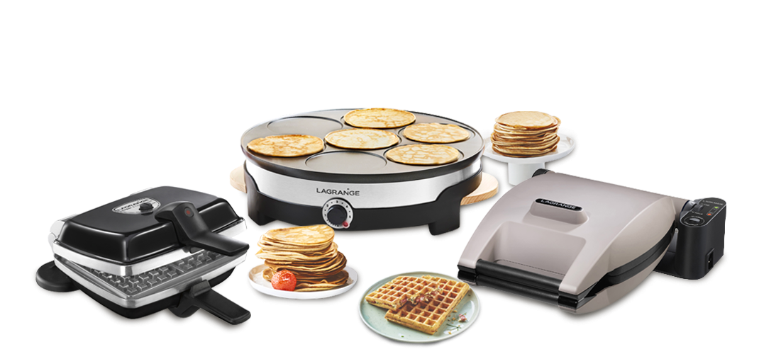 Waffle & Crepe makers
