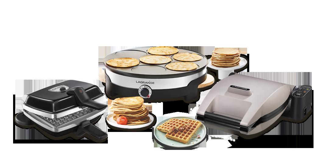Waffle & Crepe makers