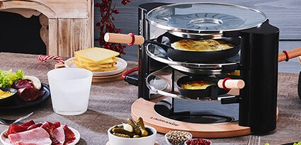 Raclettes & fondues - en
