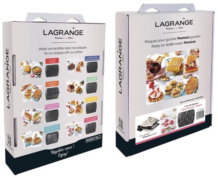 Plaques pour gaufrier Premium Lagrange
