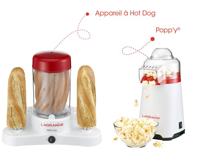 poppy et hotdog