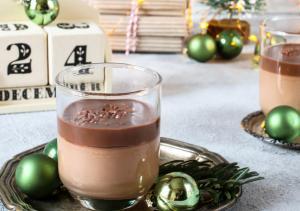 Yaourts Maison Au Chocolat Noir
