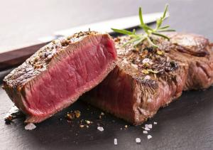 Steaks au poivre - en