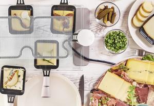 Raclette Franc-Comtoise au Morbier et Bleu de Gex