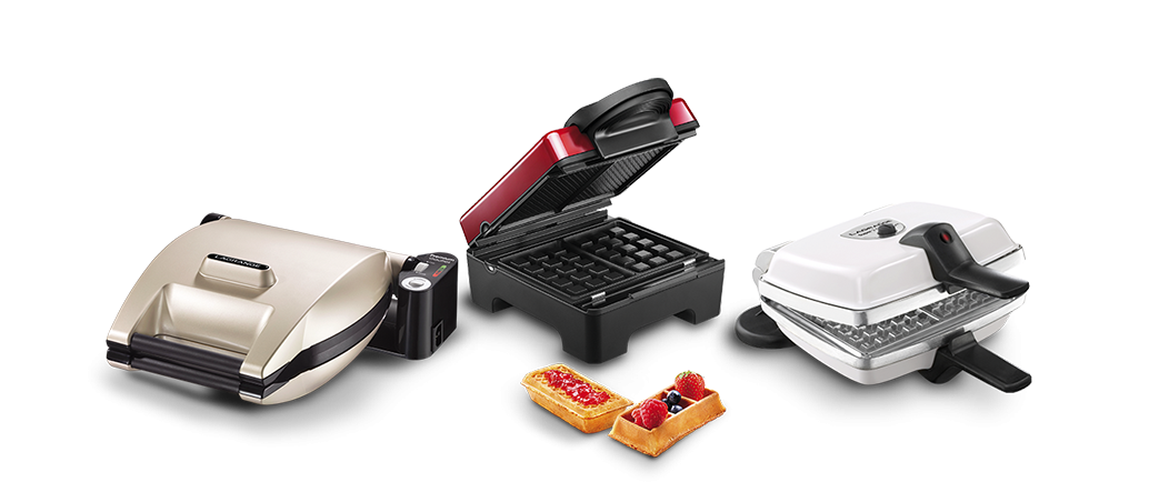 Line of Waffle makers