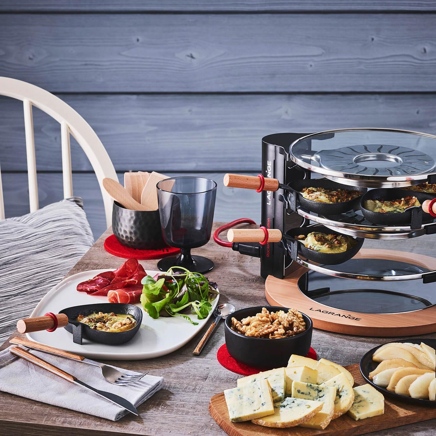 Raclette Evolution® avec accessoires - en