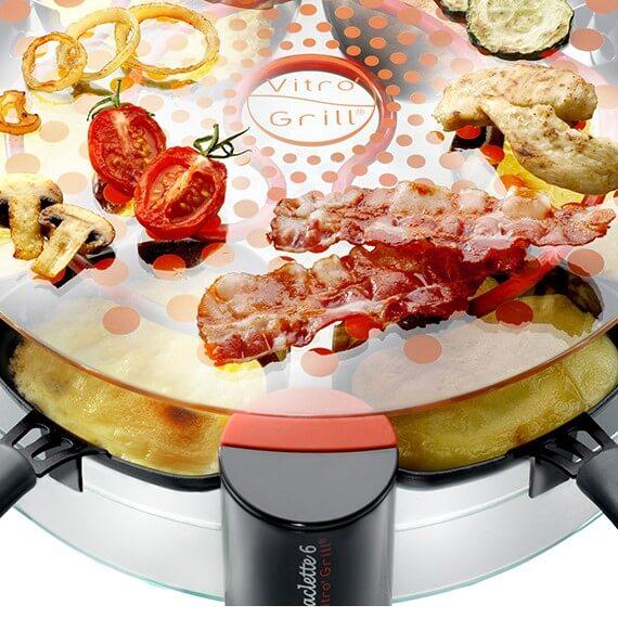 6-person Vitro' Grill® Raclette Maker - en